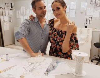 Louise Roe savo vestuvėms pasirinko PRONOVIAS vestuvinę suknelę!