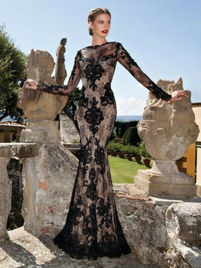 Tarik Ediz evening dress 92609