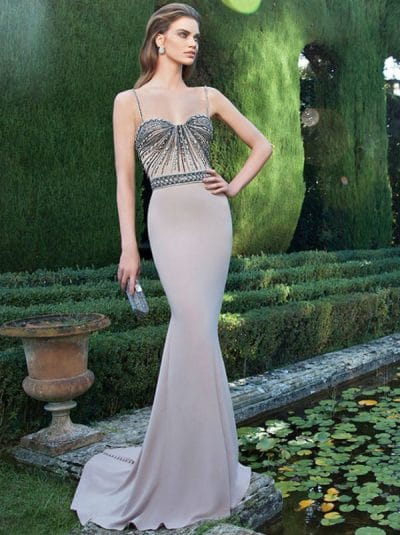 Tarik Ediz evening dress 92625