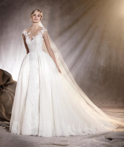 Adela wedding dress