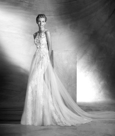 Vintage vestuvinė suknelė