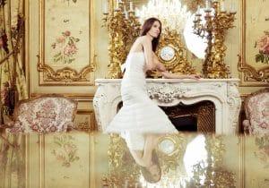 balta vestuvine suknele