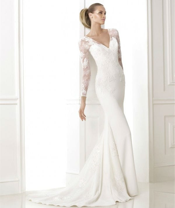 Bitan wedding dress