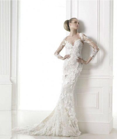 Capricornio wedding dress