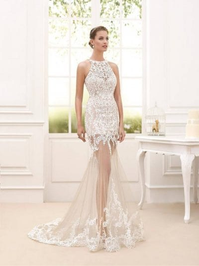 Corfu wedding dress