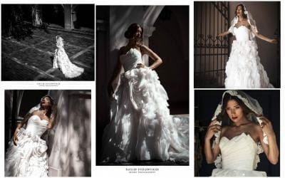 """Salono SANTA vestuvinė suknelė pasakiškoje fotosesijoje """"Secret Wedding"""""""