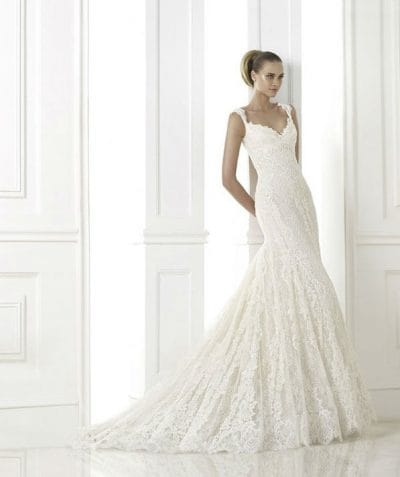 Kala wedding dress