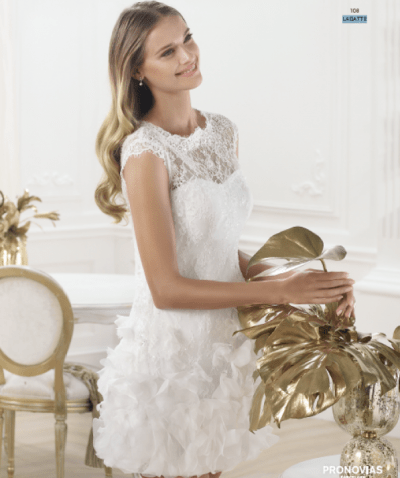 Lagatte wedding dress