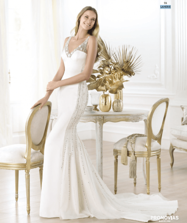 Laherie wedding dress
