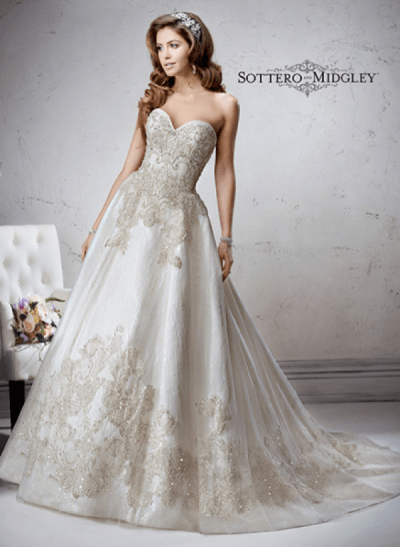 Marcela wedding dress