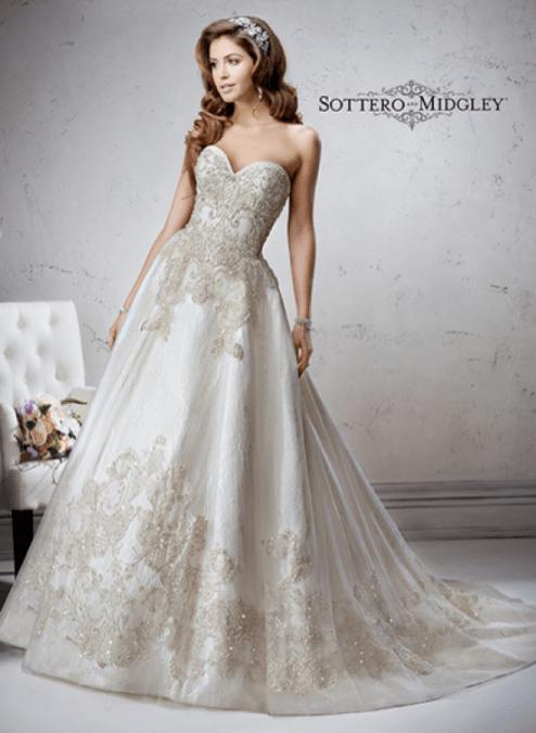 Marcela wedding dress
