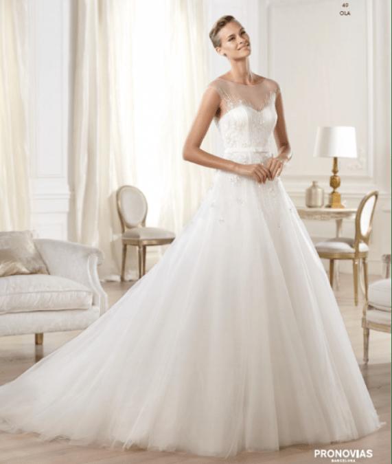 Ola vestuvinė suknelė