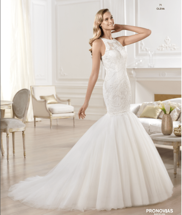 Olena wedding dress