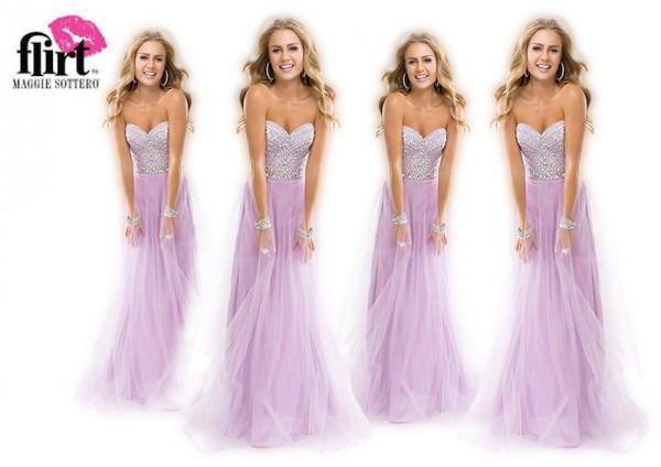 Pamergių suknelės Magic 4