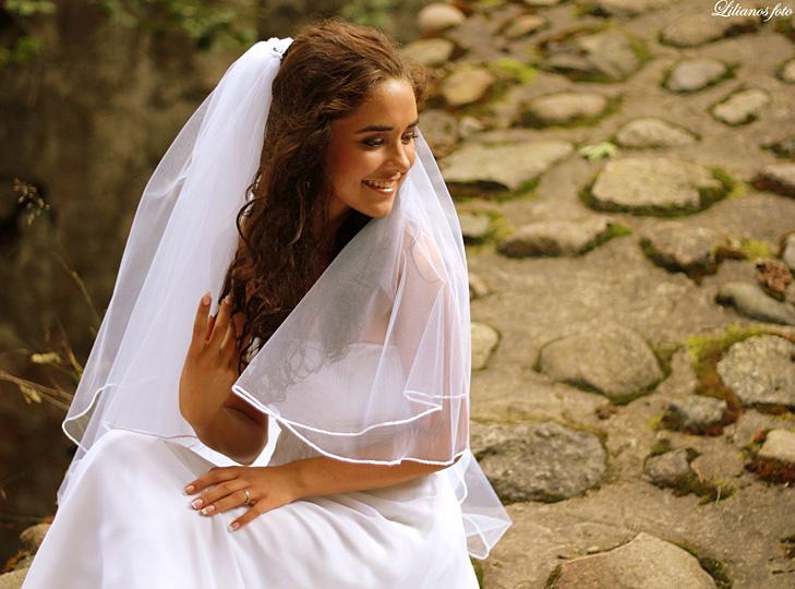 Vestuvinės suknelės rudeniui