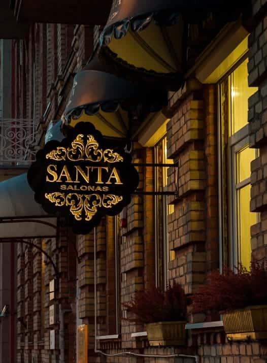 СВАДЕБНЫЕ ПЛАТЬЯ Santa salon