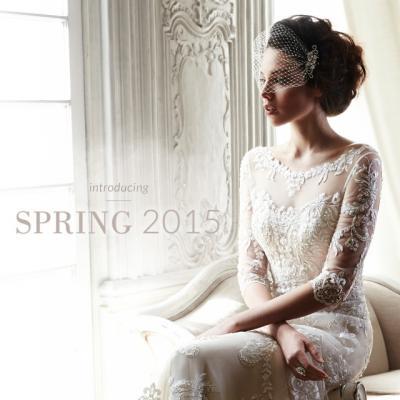 Debiutuoja 2015 metų MAGGIE SOTTERO vestuvinių suknelių pavasario kolekcija!