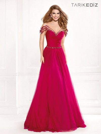 Tarik Ediz evening dress 92415