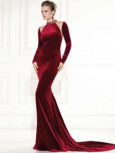 Tarik Ediz evening dress 92431