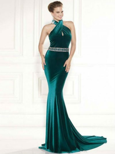 Tarik Ediz evening dress 92463
