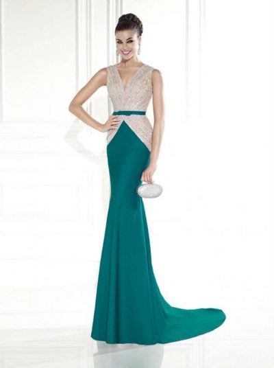 Tarik Ediz evening dress 92585