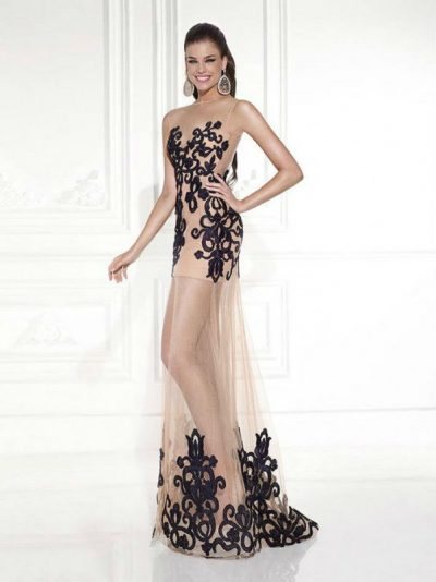 Tarik Ediz evening dress 92622