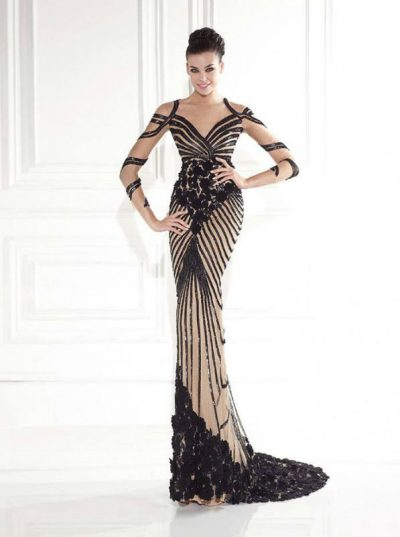 Tarik Ediz evening dress 92639