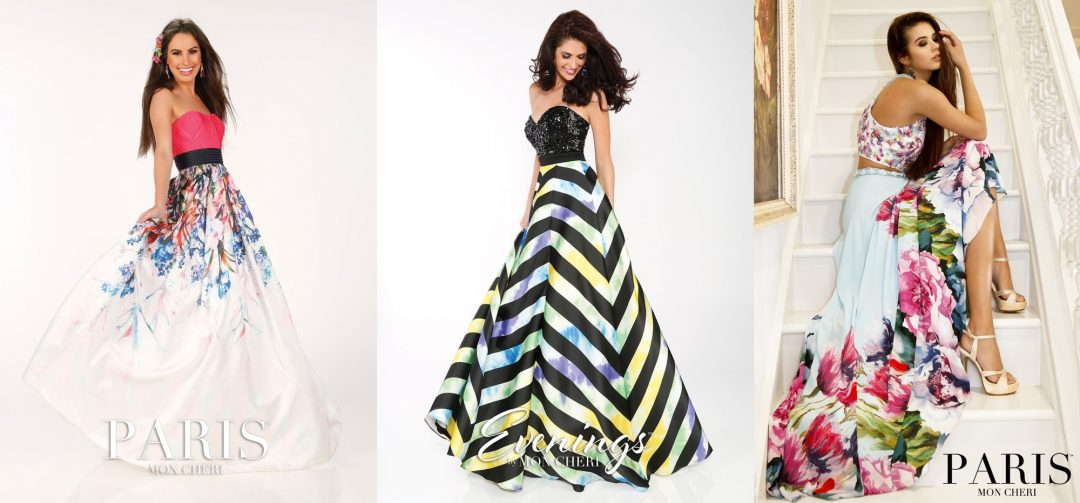 Garsaus dizainerio Tony Bowls proginės suknelės