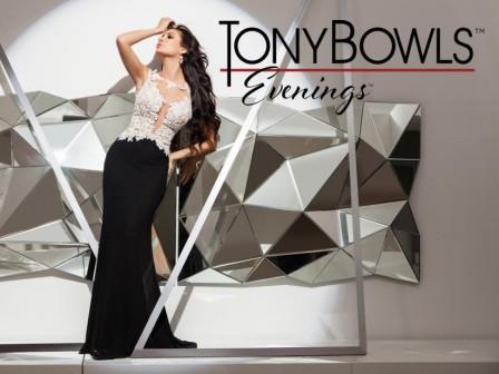 """NAUJOS """"TONY BOWLS"""" PROGINIŲ SUKNELIŲ KOLEKCIJOS ATKELIAUJA Į """"SANTA"""" SALONĄ!"""