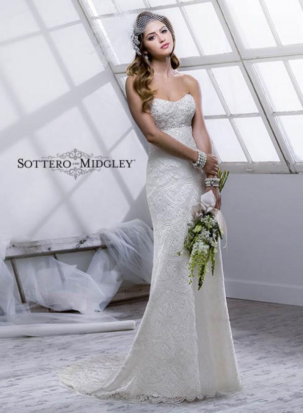Logan vestuvinė suknelė