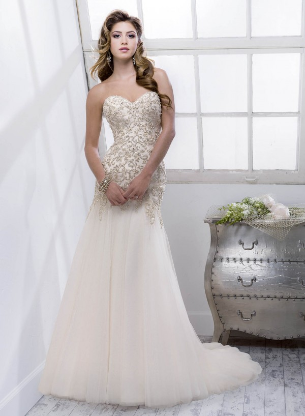 Quincy vestuvinė suknelė