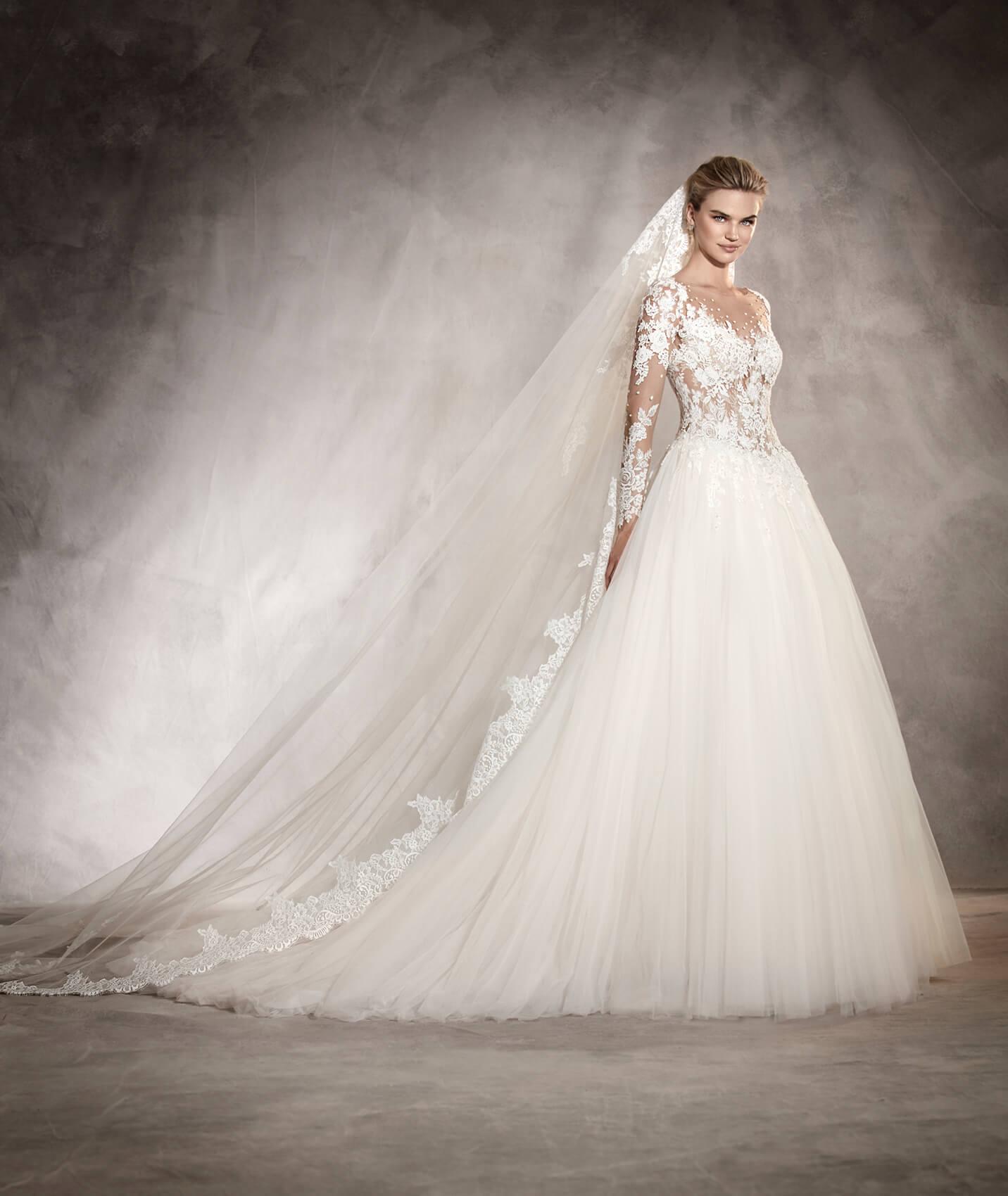 vestuvines-sukneles-pronovias-arlene