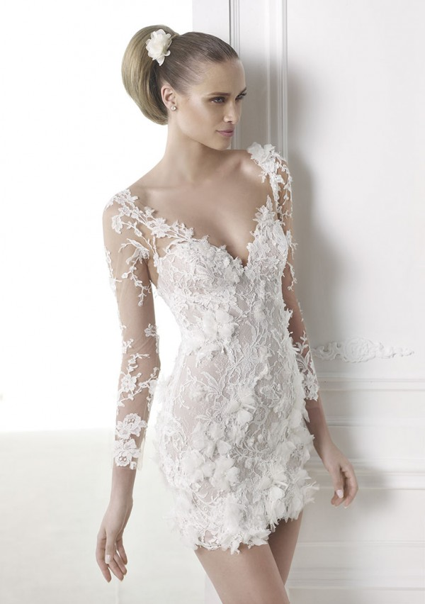 vestuvines sukneles pronovias capricornio 2