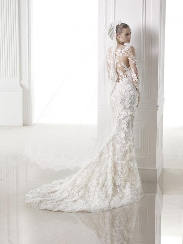 vestuvines sukneles pronovias capricornio 3