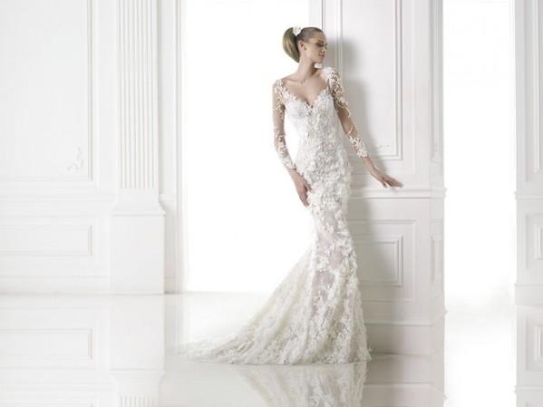 vestuvines sukneles pronovias capricornio 4