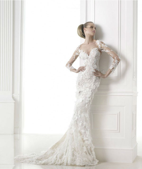 vestuvines sukneles pronovias capricornio