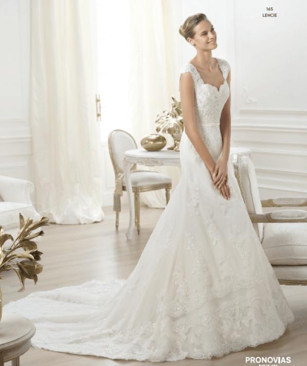vestuvines-sukneles-pronovias-lencie