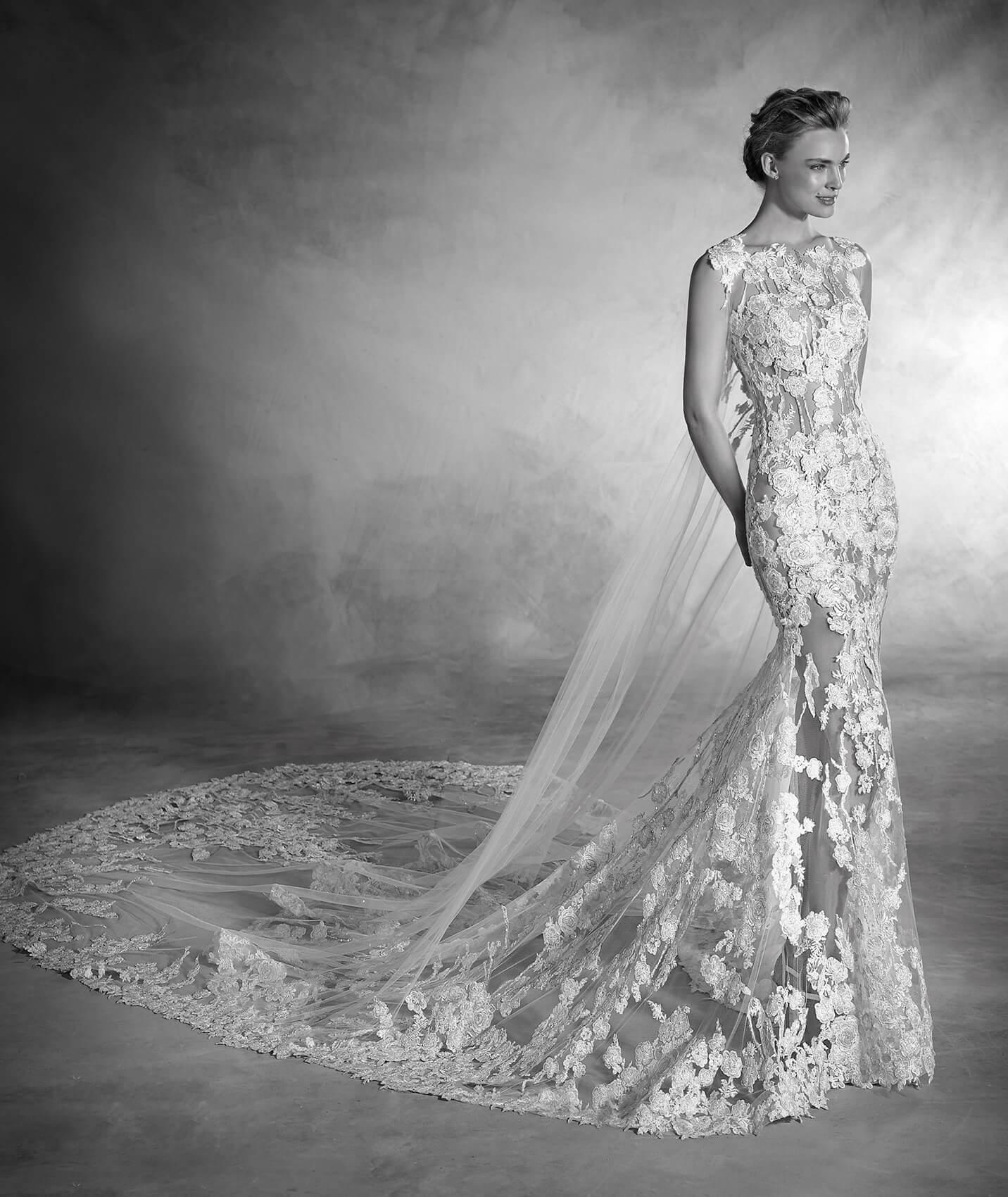 vestuvines sukneles pronovias natura