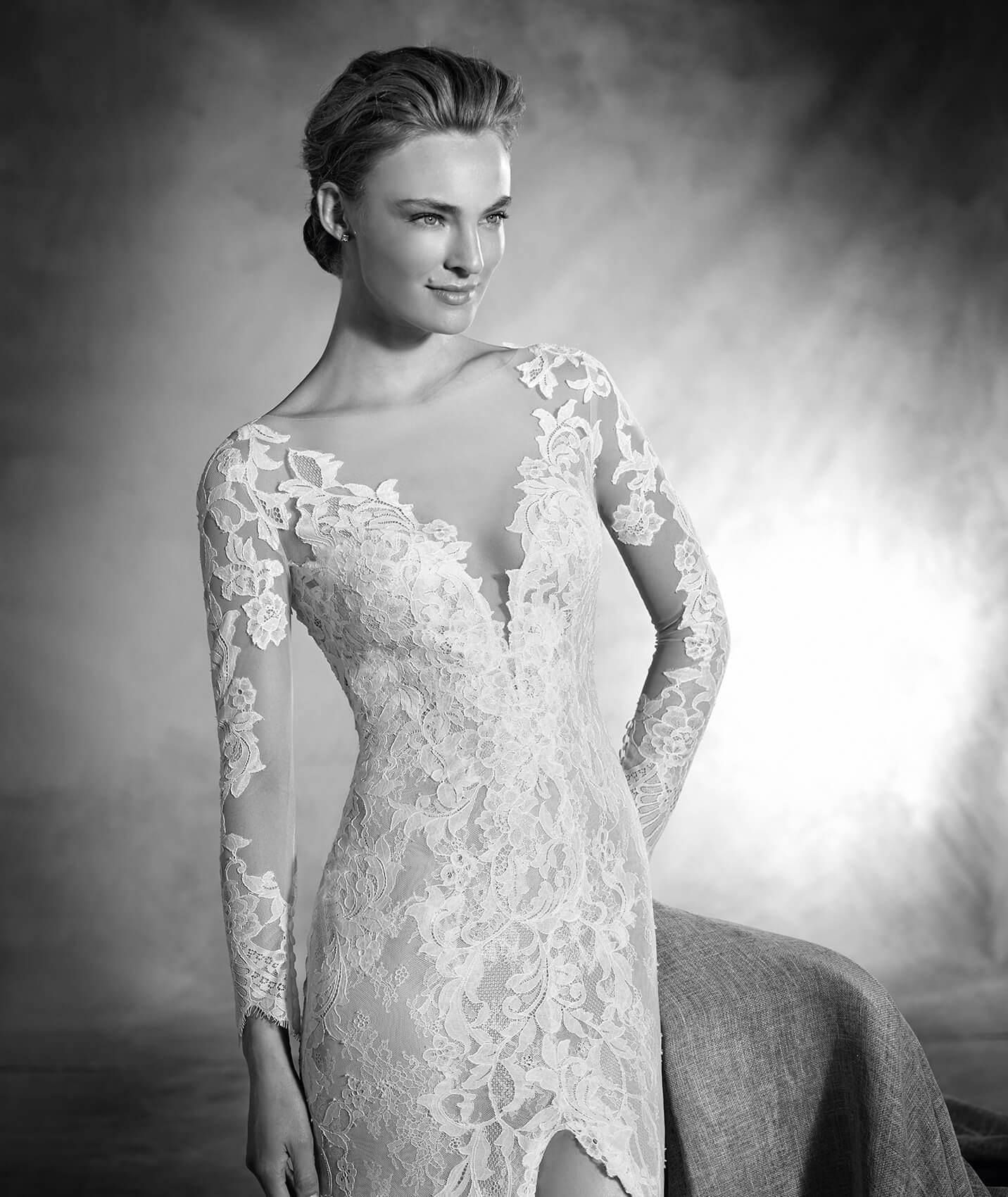 vestuvines-sukneles-pronovias-nenufar-2