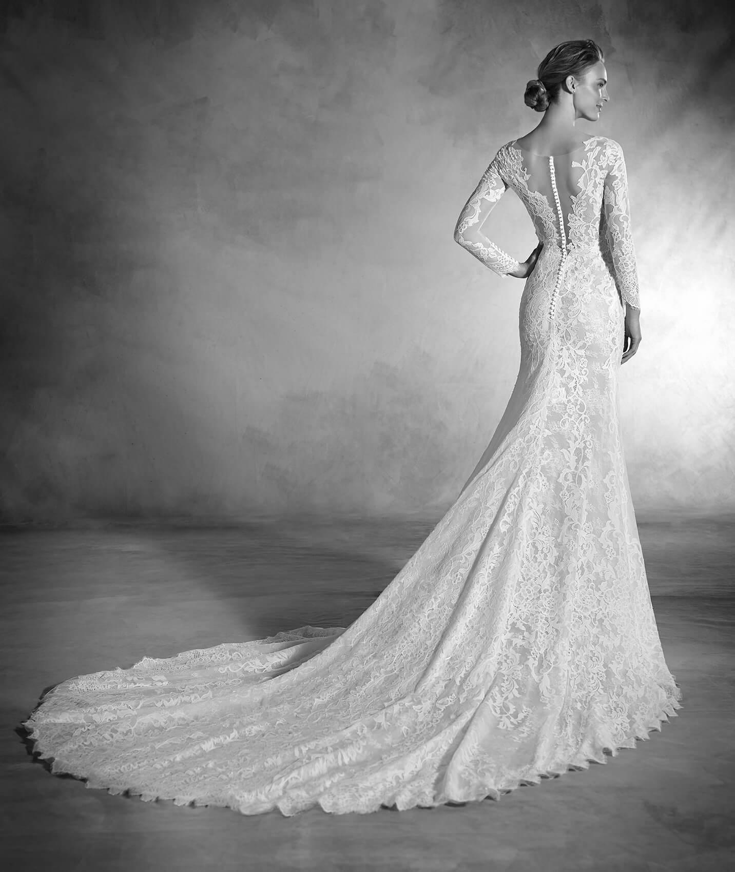 vestuvines sukneles pronovias nenufar 3