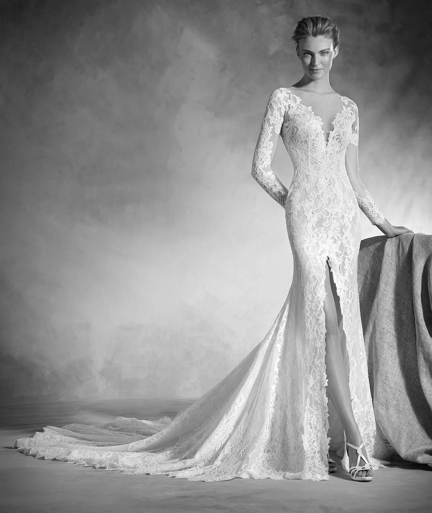vestuvines sukneles pronovias nenufar