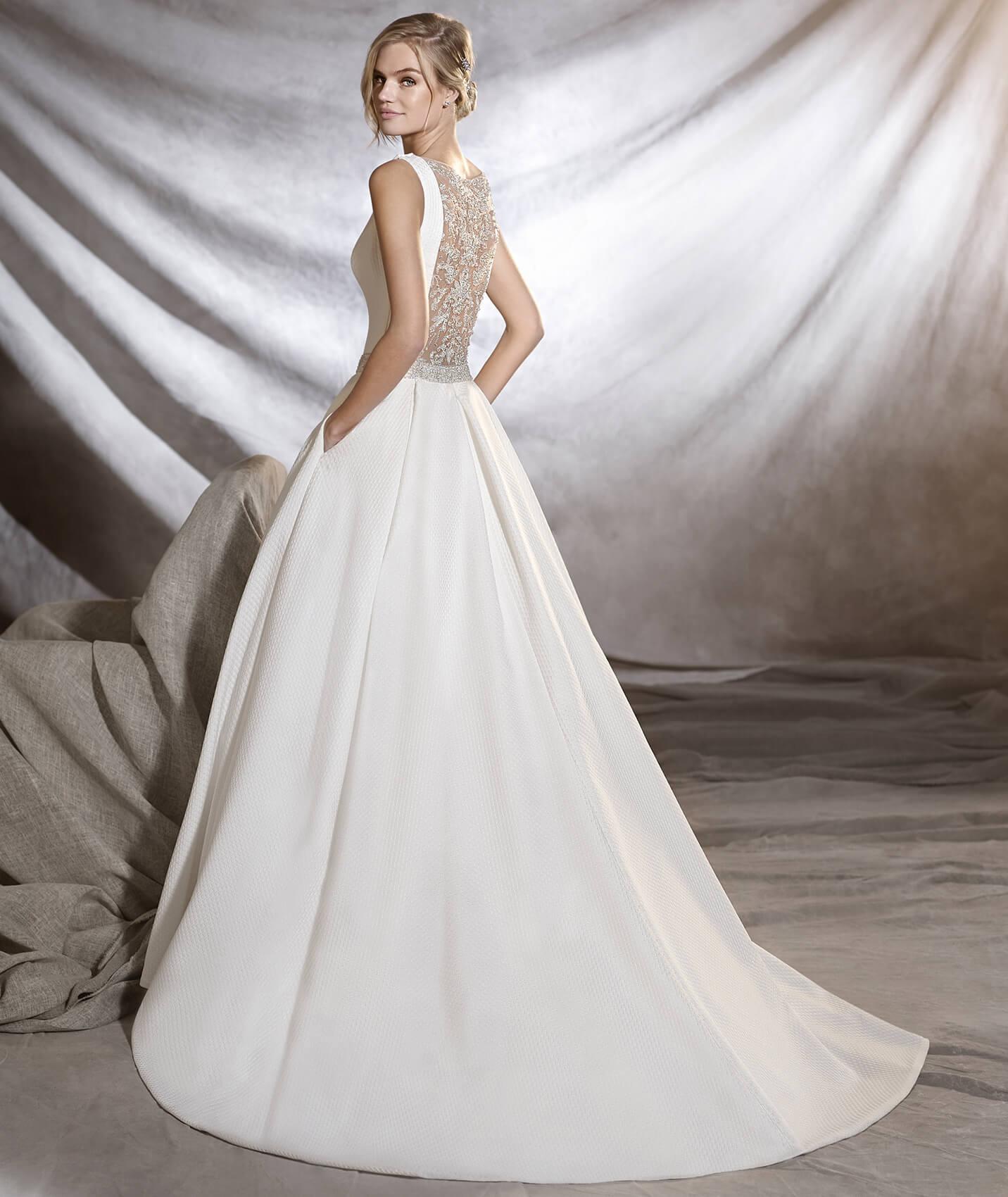 vestuvines sukneles pronovias olmedo 2
