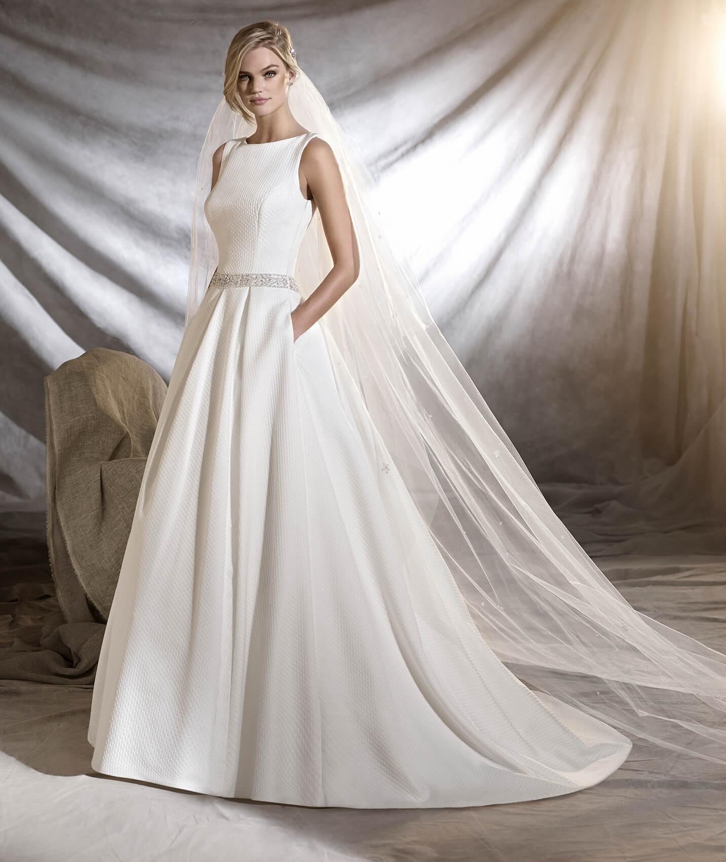 vestuvines sukneles pronovias olmedo