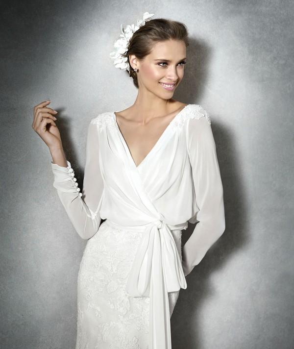 vestuvines-sukneles-pronovias-primael-3