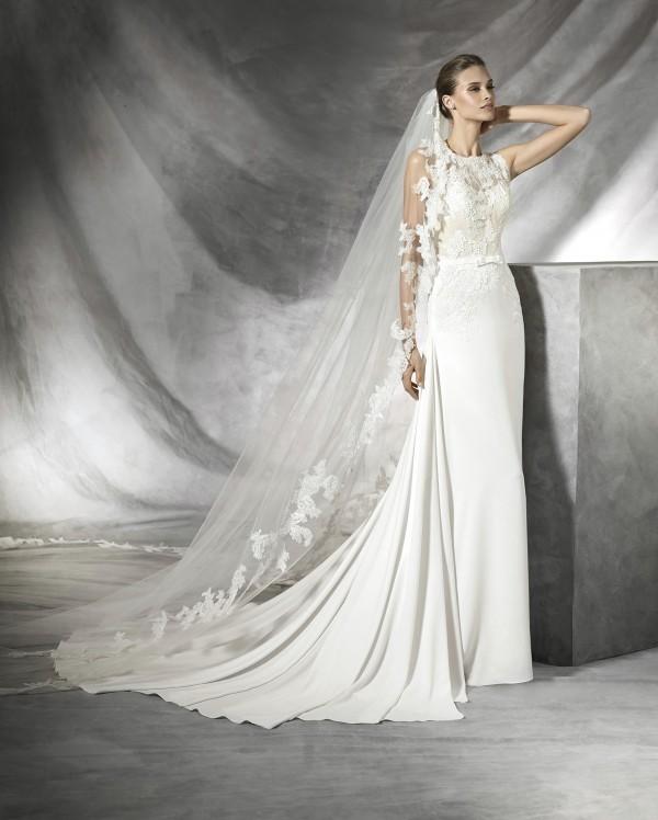 vestuvines sukneles pronovias tesia