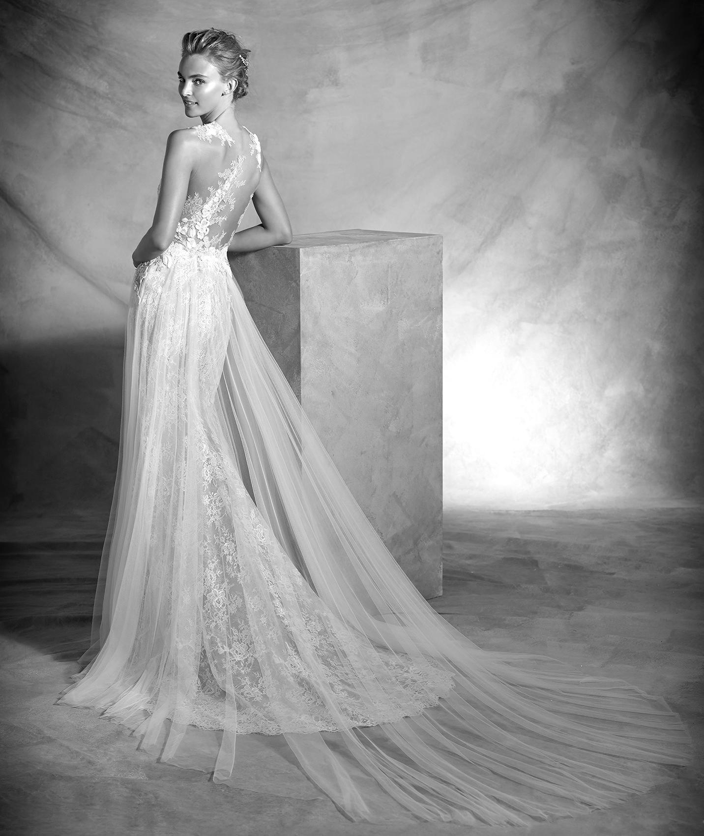 vestuvines sukneles pronovias vintage 2