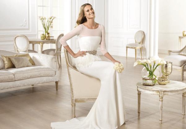 vestuvines sukneles pronovias yanela 2