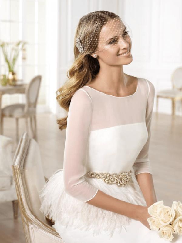 vestuvines sukneles pronovias yanela 3