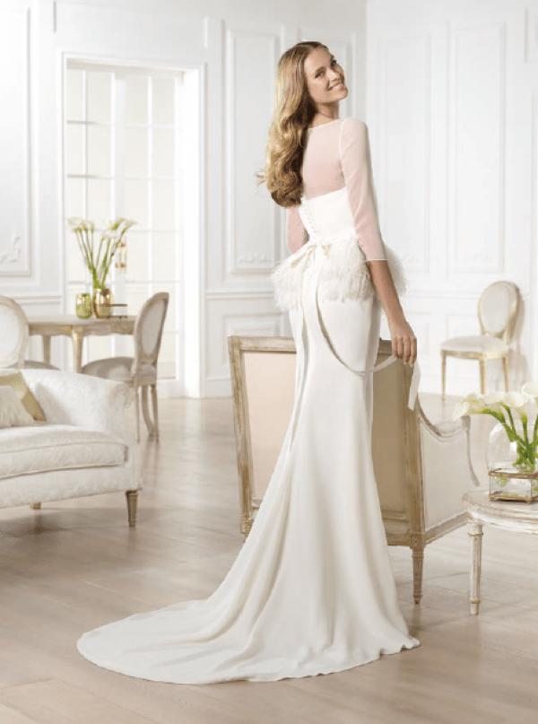 vestuvines sukneles pronovias yanela 4