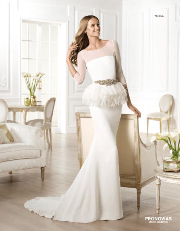 vestuvines sukneles pronovias yanela